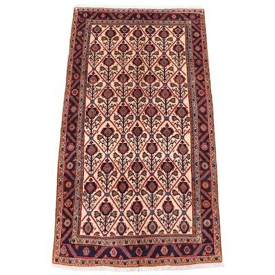 5' x 9'7 Hand-Knotted Persian Kolyai Area Rug