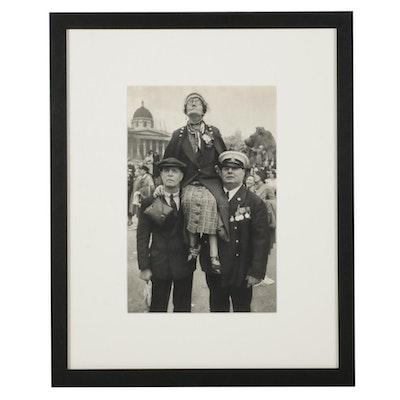 """Henri Cartier-Bresson Coronation Rotogravure From """"The Decisive Moment,"""" 1952"""
