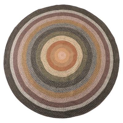 "7'11 Round Handmade Safavieh ""Braided Collection"" Indoor/Outdoor Area Rug"