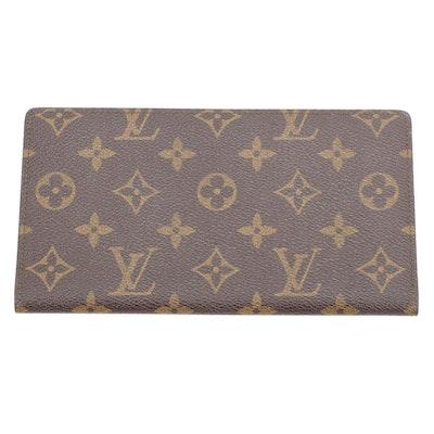 Louis Vuitton Porte-Chequier Cartes Crédit in Monogram Canvas