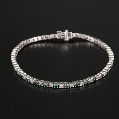 14K 3.00 CTW Diamond Line Bracelt