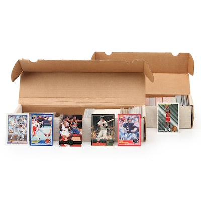 MLB, NFL, NBA Trading Cards Including Michael Jordan, Anthony Munoz, and More