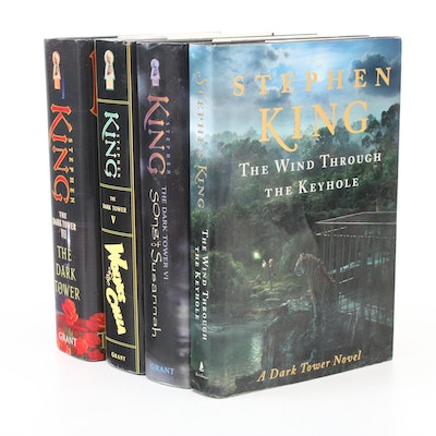 """First Trade Edition """"The Dark Tower"""" Books by Stephen King"""