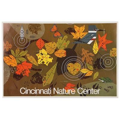 "Cincinnati Nature Center Poster After Charley Harper ""Autumn"""