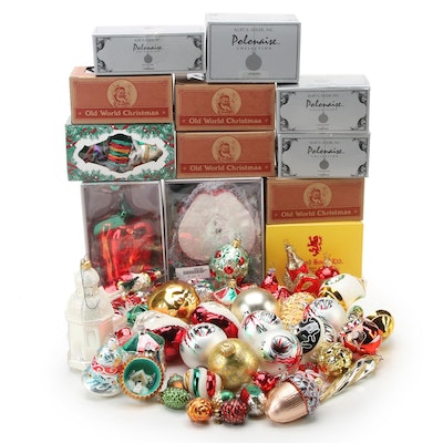 Department 56, Old World Christmas, and More Glass Ornaments