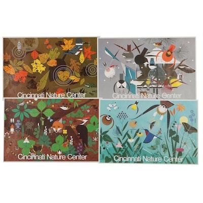 Seasonal Cincinnati Nature Center Posters After Charley Harper