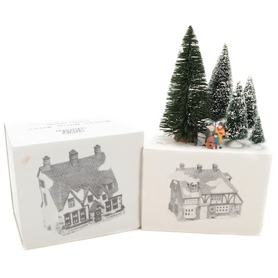 """Department 56 """"Dickens' Village"""" Series Porcelain Buildings and Accessories"""