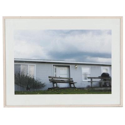 Giclée Photograph of House, 21st Century