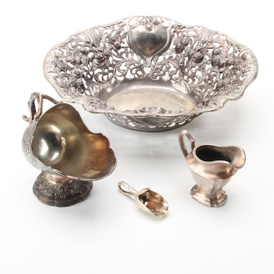 Godinger, R. Wallace and Other Silver Plate Tableware, Early to Mid-20th Century