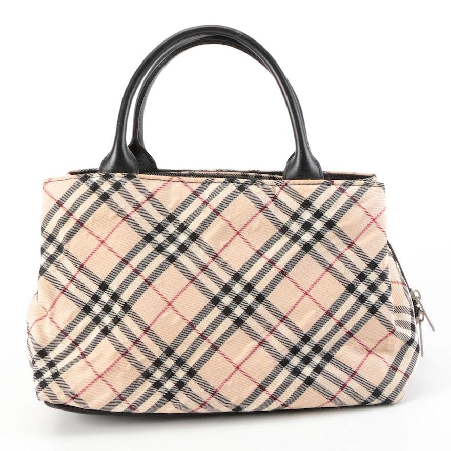 Burberry Blue Label Nova Check Handbag