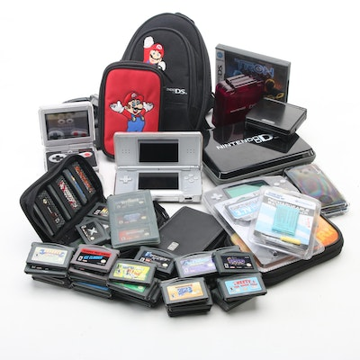 Nintendo Gameboy Advance, Nintendo DS, Gameboy Advance SP, Accessories and Games