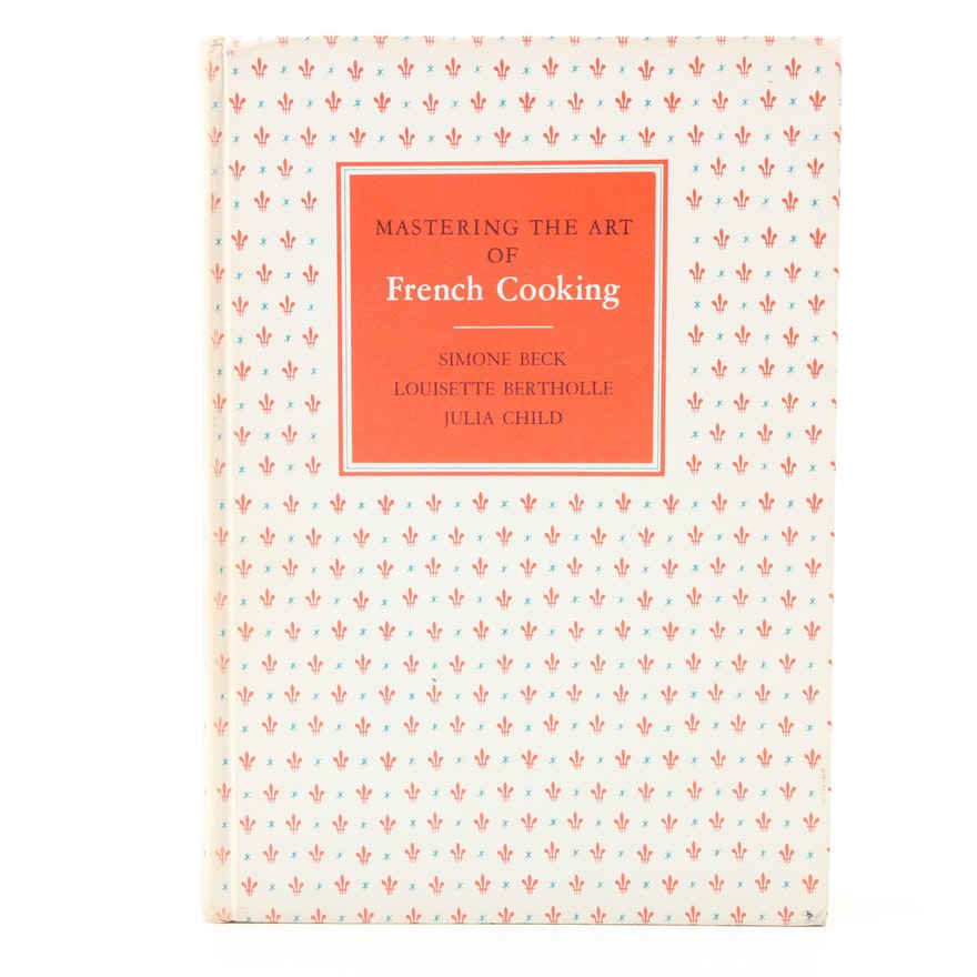 """Fourth Printing """"Mastering the Art of French Cooking"""" by Julia Child, 1963"""