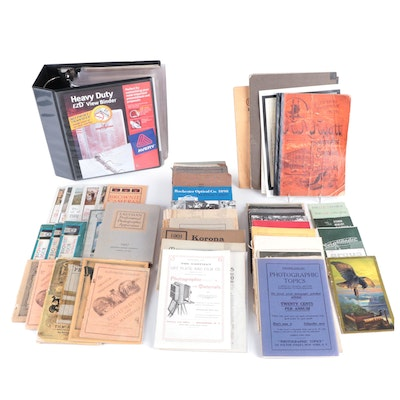 Kodak and Other Camera Advertisements, Information Booklets and More