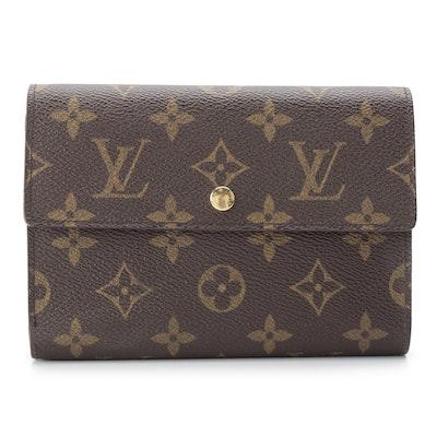Louis Vuitton Porte-Tresor Etui Papiers Trifold Wallet in Monogram Canvas