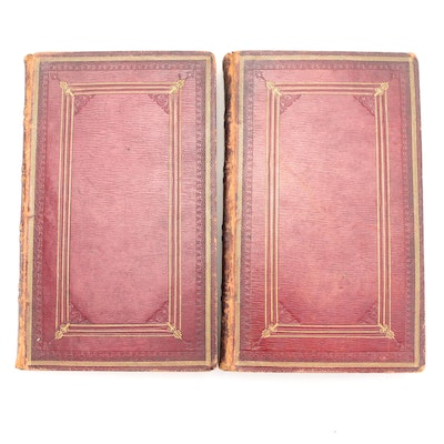 Latin and Greek New Testament with Commentary Two-Volume Set, 1816