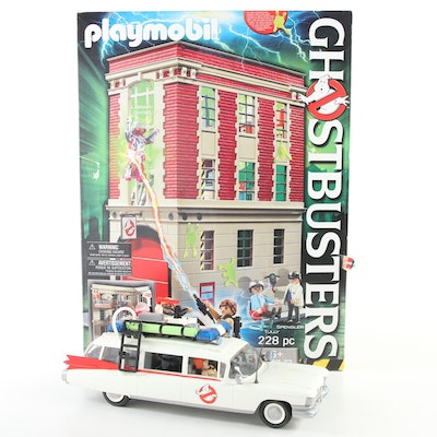 """Playmobil """"Ghostbusters"""" Building Set and Ectomobile, 2017"""