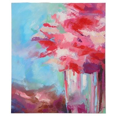 Alyona Glushchenko Landscape Oil Painting, 21st Century