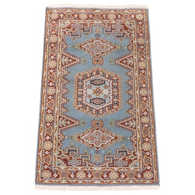 3'1 x 5'4 Hand-Knotted Persian Viss Accent Rug