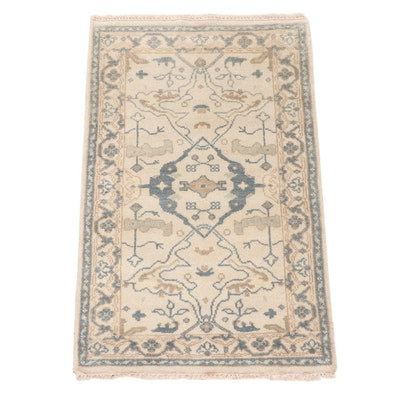 3' x 5'1 Hand-Knotted Turkinsh Donegal Area Rug
