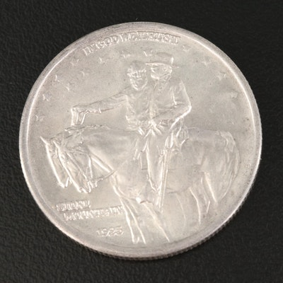 1925 Stone Mountain Commemorative Silver Half Dollar