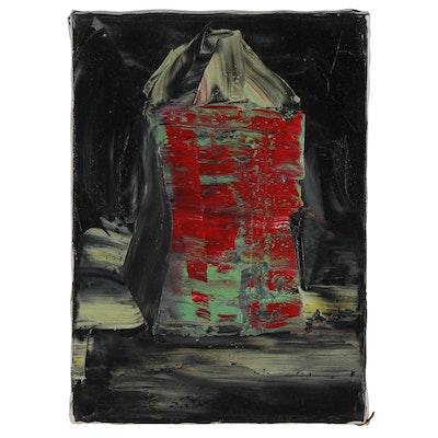 Jon Scharlock Abstract Oil Painting