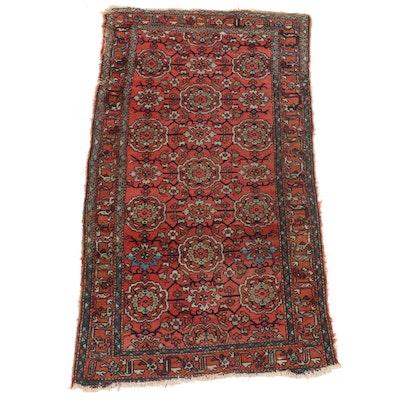 3'6 x 6'8 Hand-Knotted Persian Hamadan Area Rug