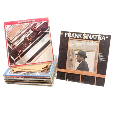 Elvis, Debby Boone, Frank Sinatra, The Beatles and More Vinyl Albums