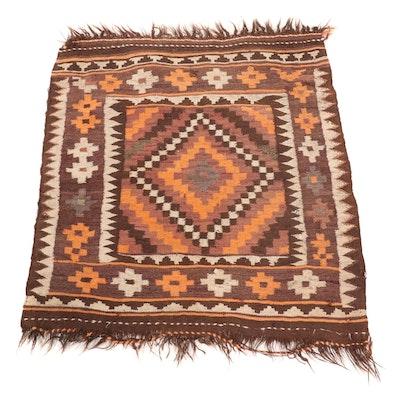 2'9 x 3'7 Handwoven Turkish Village Kilim Accent Rug