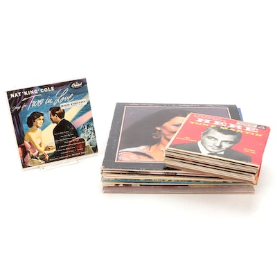 Frank Sinatra, Barbra Streisand, Billy May, Other Vinyl LP and 45RPM Records