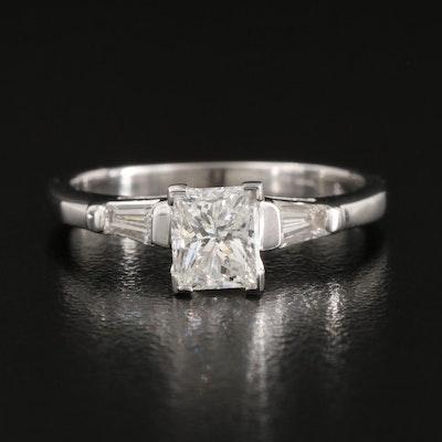 14K 0.91 CTW Diamond Ring
