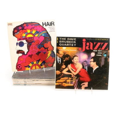 "Benny Goodman, Dave Brubeck, ""Hair"" and ""Tommy"" Soundtracks, Vinyl LP Records"