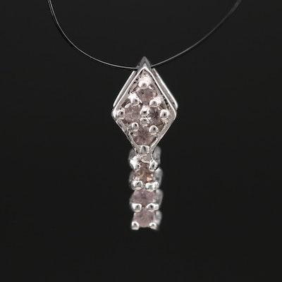 Sterling Garnet Pendant