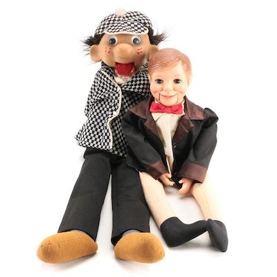 """Horseman Dolls, Inc. """"Willie Talk"""", Sherlock Holmes Ventriloquist Dummy"""
