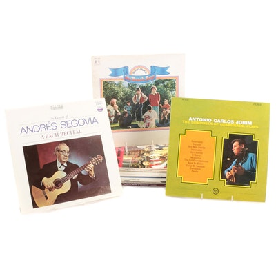 Jobim, Andrés Segovia, The Beach Boys, Other Classical, International LP Records