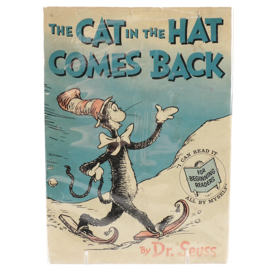 """First Printing """"The Cat in the Hat Comes Back!"""" by Dr. Seuss, 1958"""