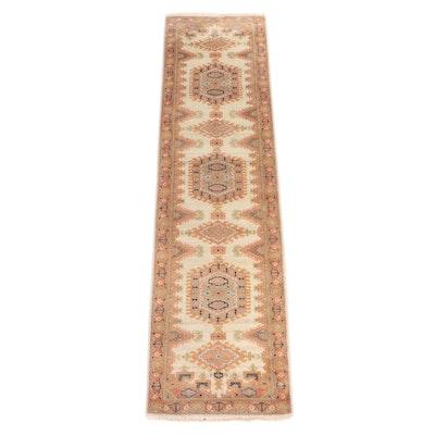 2'6 x 10'1 Hand-Knotted Persian Viss Carpet Runner