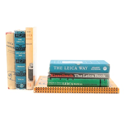 Leica Camera and Photography Manuals, 20th Century