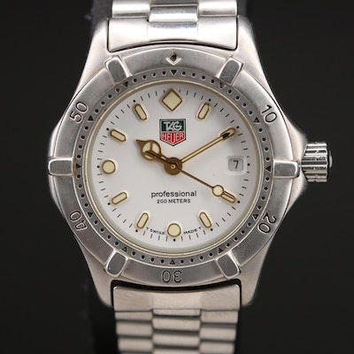 Tag Heuer 200 Meters with Date Wristwatch