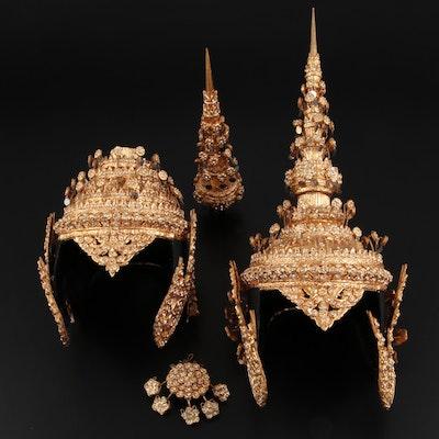 Southeast Asian Kohn Makuta Headdress