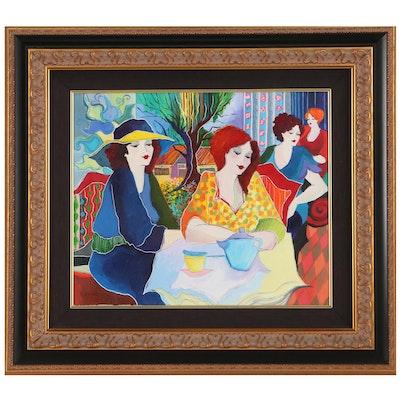Patricia Govezensky Acrylic Painting