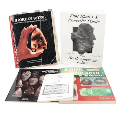 """""""Indian Artifacts of the Midwest"""" and More Flint and Projectile Point Books"""