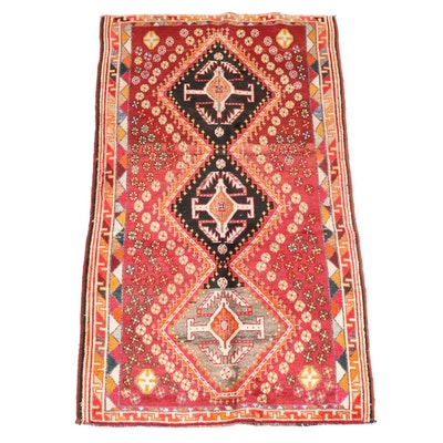 3'11 x 6'8 Hand-Knotted Persian Yalameh Area Rug