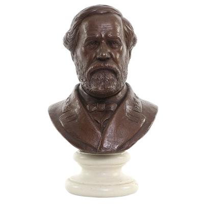 Alva Museum Replicas Bust of Robert E. Lee