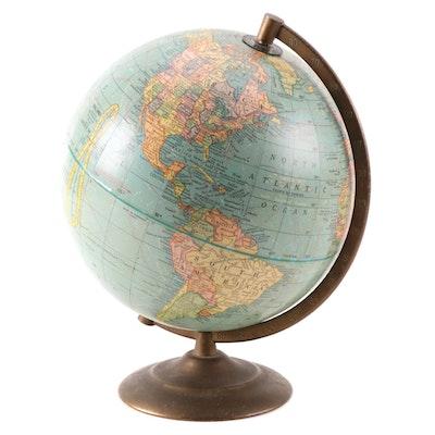 "George F. Cram 9"" Terrestrial Globe, Mid-20th Century"