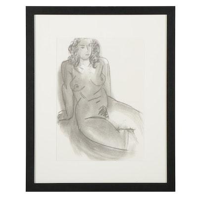 """Halftone After Henri Matisse for """"Derrière le Miroir,"""" 1952"""