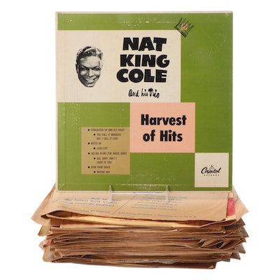 Nat King Cole, Billy May, Rosemary Clooney, Other Swing and Pop 78 Records