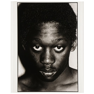 Alan Metnick Silver Gelatin Portrait Photograph, 1973
