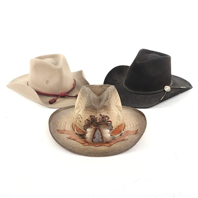 Charlie Horse Hat Co. Felted Fur and Woven Straw Cowboy Hats