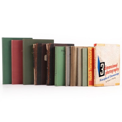 """""""Three-Dimensional Photography"""" and More Photography Books"""