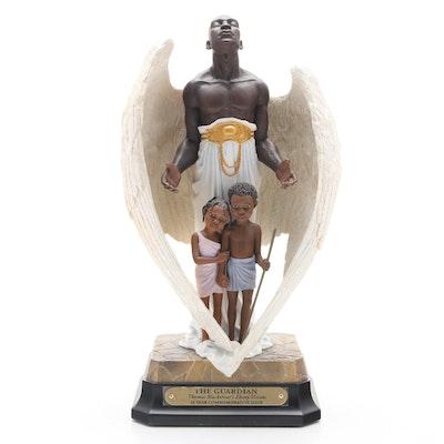 "Thomas Blackshear's Ebony Visions ""The Guardian"" Limited Edition Figurine, 1995"